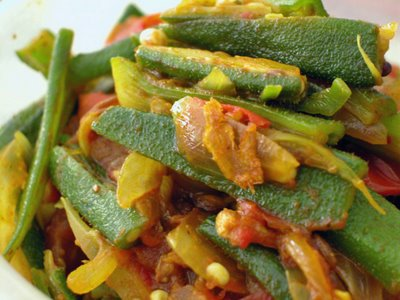seasonal Bhindi Masala